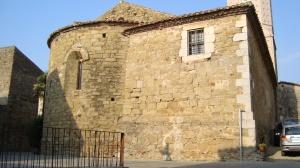 Absis església de Verges